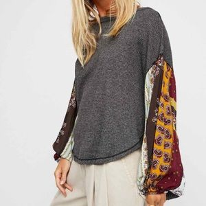 Free People We The Free Thermal Blossom Top
